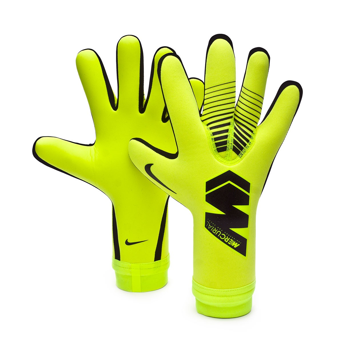 41490f05ba2b4 Glove Nike Mercurial Touch Victory Volt-Black - Football store ...