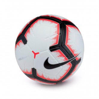 Balón  Nike Merlin 2018-2019 White-Bright crimson-Black