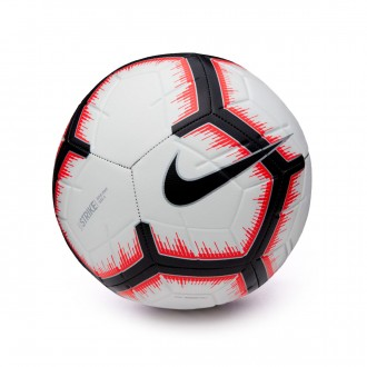 Balón  Nike Strike 2018-2019 White-Bright crimson-Black
