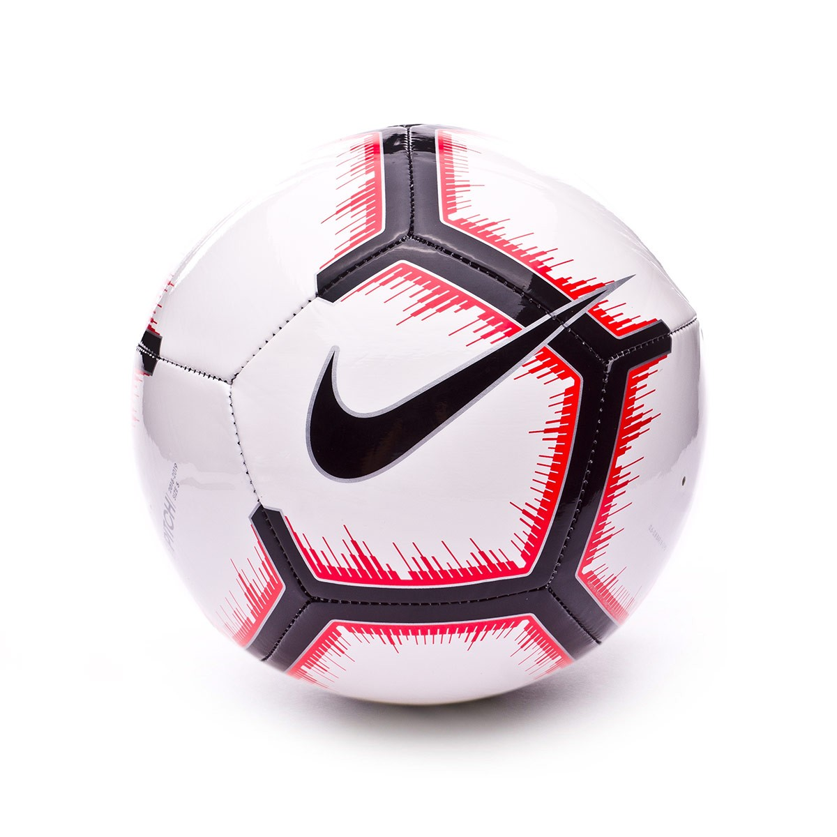 Ball Nike Pitch 2018-2019 White-Bright crimson-Black - Football store  Fútbol Emotion a410a5e9b127f