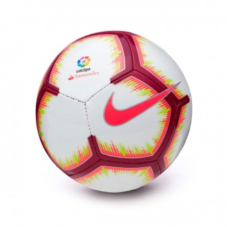 Balón  Nike Mini La Liga Skills 2018-2019 White-Pink flash-Team red