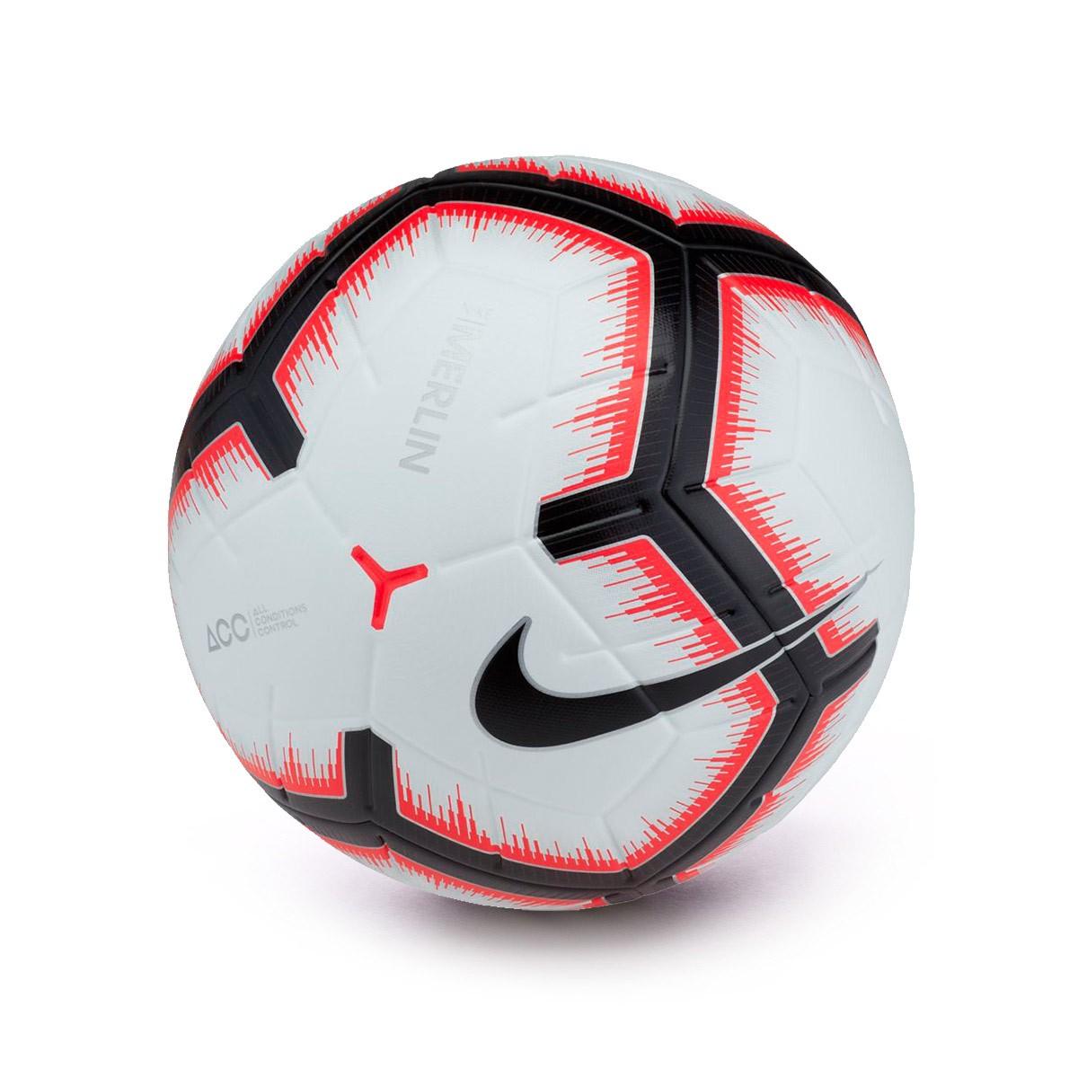 Nike Merlin White Bright De Crimson 2018 2019 Nos Bola Futebol Liga w8mNn0