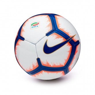 Balón  Nike Mini Serie A Skills 2018-2019 White-Bright mango-Royal blue