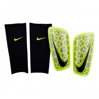 Espinillera  Nike Mercurial Flylite Volt-Black