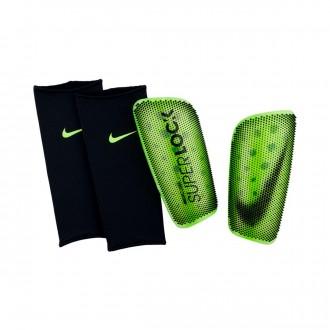 Espinillera  Nike Mercurial Lite SuperLock Volt-Black
