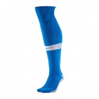 Meias Nike NikeGrip Strike Light Royal blue-White
