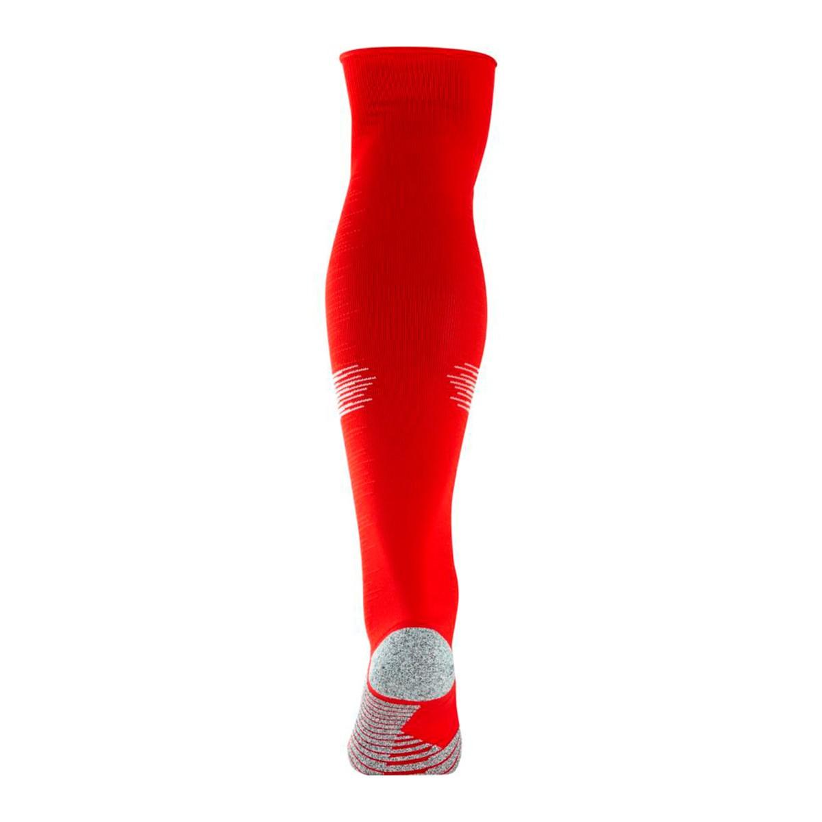 fb25d7d3 Football Socks Nike NikeGrip Strike Light University red-White - Football  store Fútbol Emotion