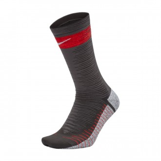 Calcetines  Nike NikeGrip Strike Light Anthracite-Crimson-Gym red-White