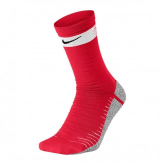 Calcetines  Nike NikeGrip Strike Light University red-White