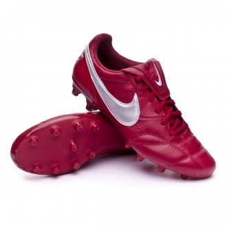 Bota  Nike Premier II FG Team red-Metallic silver