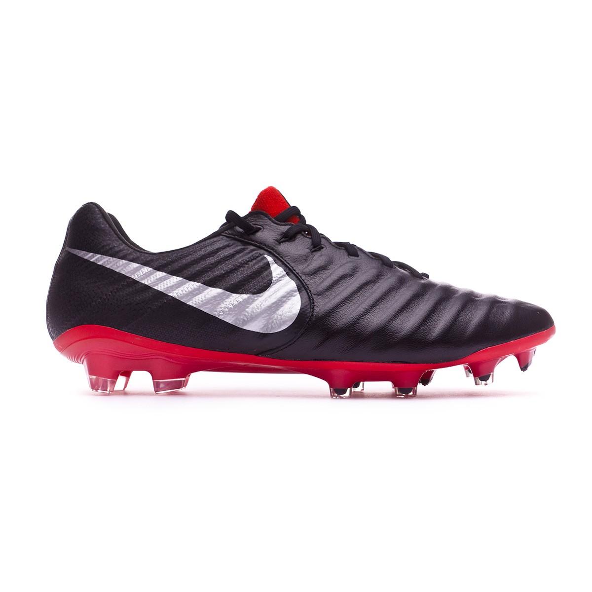 dd10ad6b0 Football Boots Nike Tiempo Legend VII Elite FG Black-Metallic silver-Light  crimson - Tienda de fútbol Fútbol Emotion