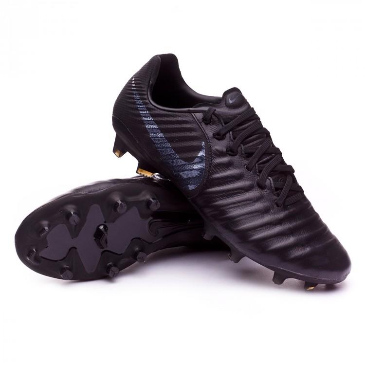 Boot Nike Tiempo Legend VII Pro FG Black - Soloporteros es ahora ... 7de08f5ef92c