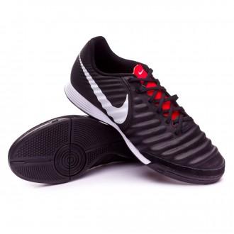 Zapatilla  Nike Tiempo LegendX VII Academy IC Black-Pure platinum-Light crimson
