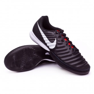 Zapatilla  Nike Tiempo Lunar LegendX VII Pro IC Black-Pure platinum-Light crimson