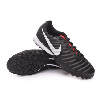 Zapatilla  Nike Tiempo Lunar LegendX VII Pro Turf Black-Pure platinum-Light crimson