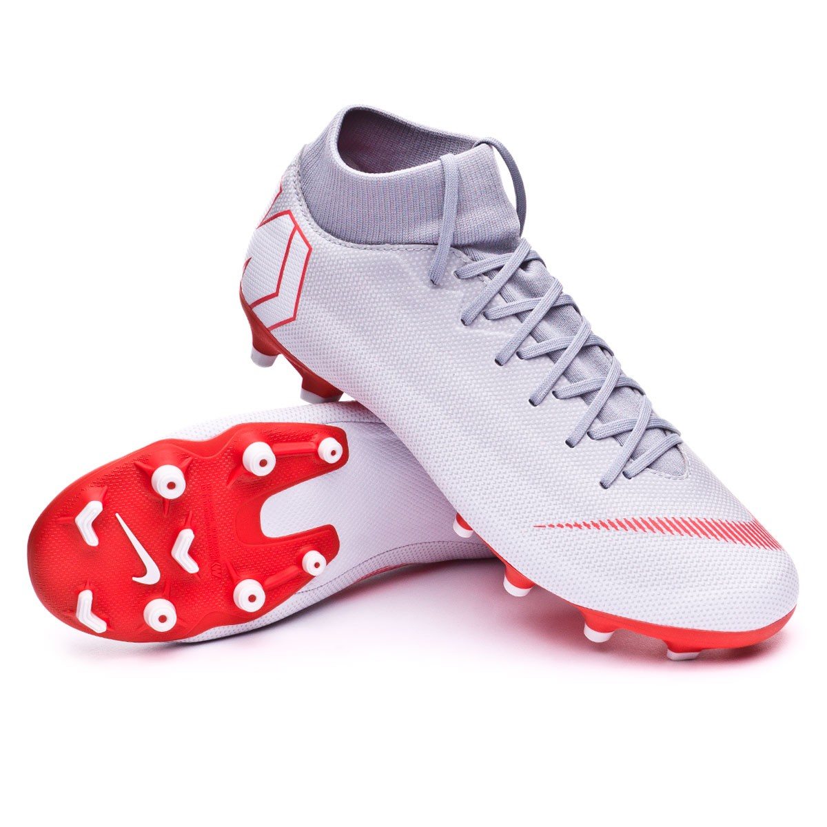 new products d01e6 1ec12 Bota Mercurial Superfly VI Academy MG Wolf grey-Light crimson-Pure platinum