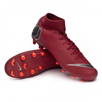 Chuteira  Nike Mercurial Superfly VI Academy MG Team red-Metallic dark grey-Bright crimson