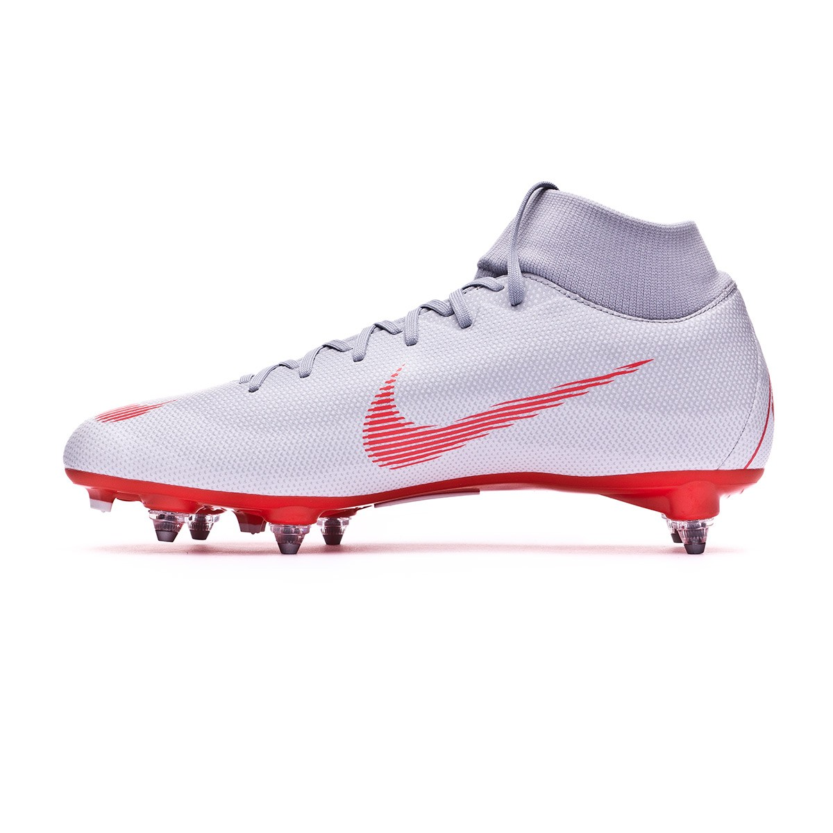 buy popular 2c0ac dfb00 Football Boots Nike Mercurial Superfly VI Academy SG-Pro Wolf grey-Light  crimson-Pure platinum - Tienda de fútbol Fútbol Emotion