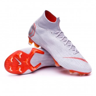 Boot  Nike Mercurial Superfly VI Elite FG Wolf grey-Light crimson-Pure platinum
