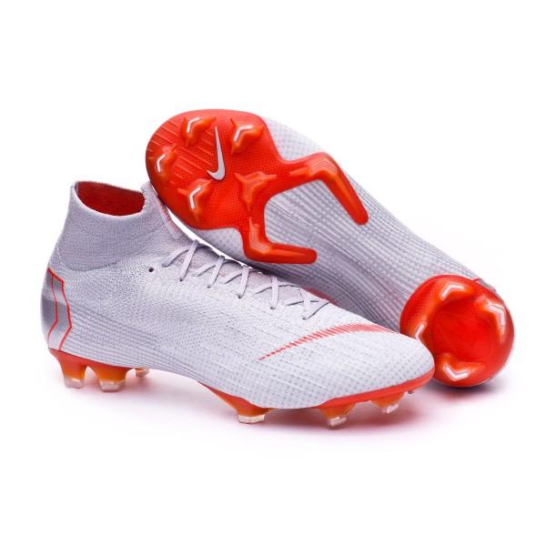 1705642fd4c69 Football Boots Nike Mercurial Superfly VI Elite FG Wolf grey-Light crimson-Pure  platinum - Tienda de fútbol Fútbol Emotion
