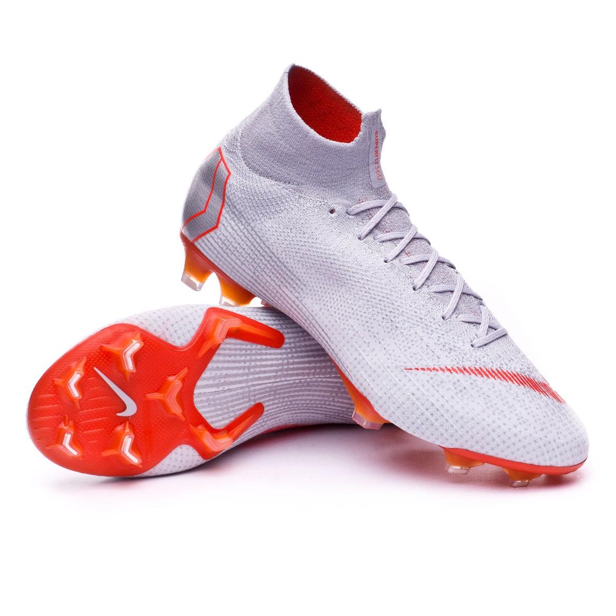 0d1713c24a131 Football Boots Nike Mercurial Superfly VI Elite FG Wolf grey-Light ...
