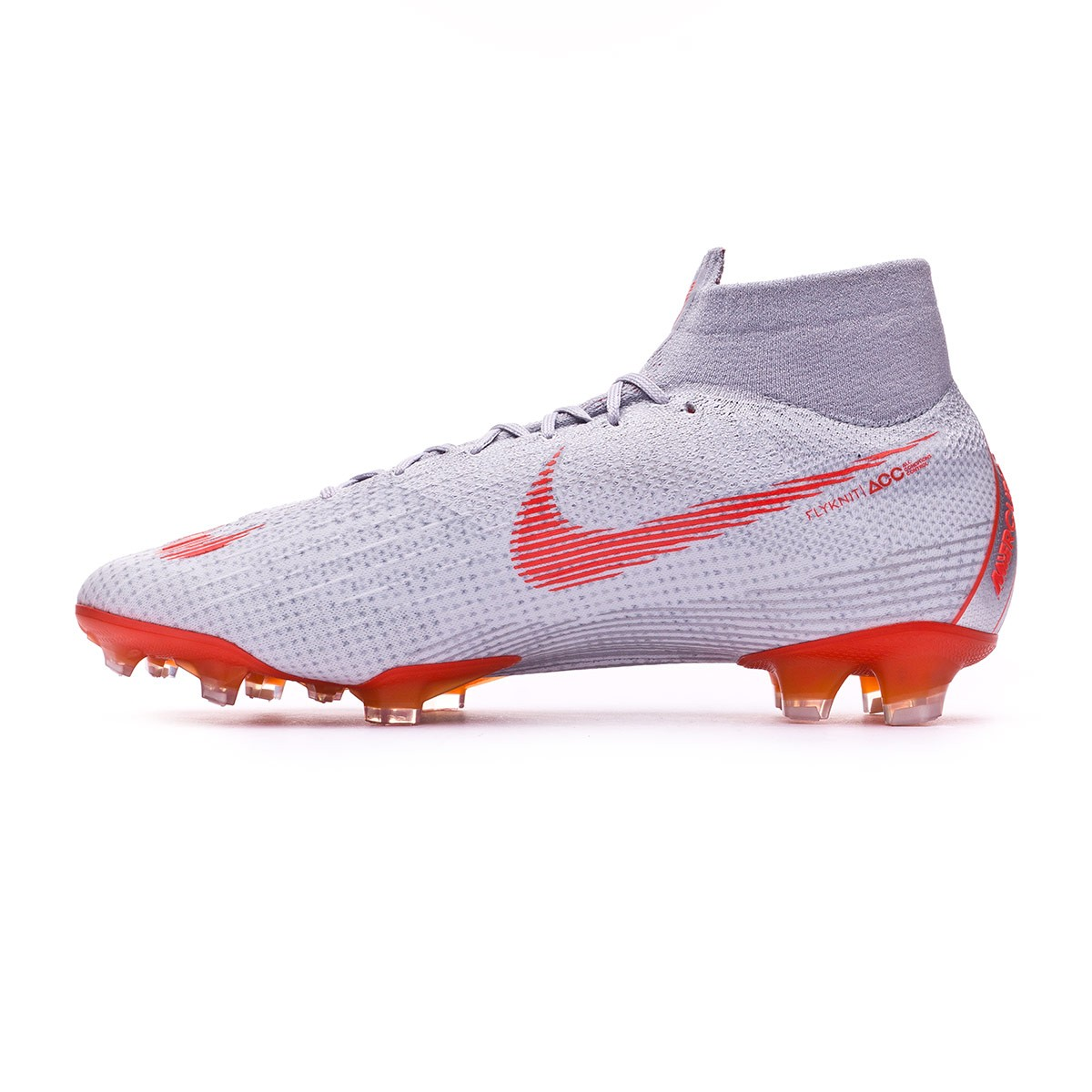 a8a4c87a9a4 Football Boots Nike Mercurial Superfly VI Elite FG Wolf grey-Light crimson-Pure  platinum - Tienda de fútbol Fútbol Emotion