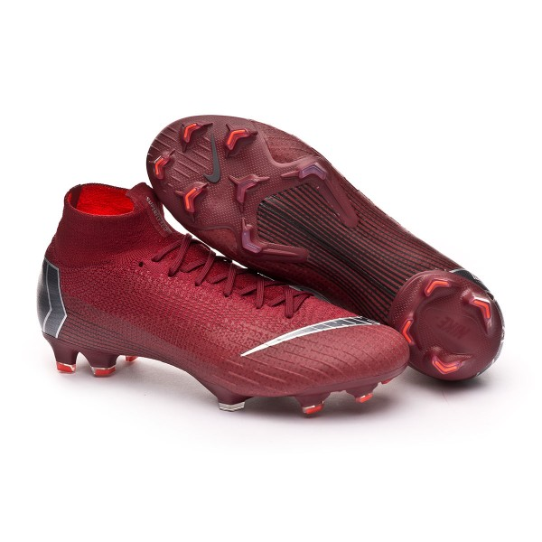 efe576b7e93 Football Boots Nike Mercurial Superfly VI Elite FG Team red-Metallic dark  grey-Bright crimson - Football store Fútbol Emotion