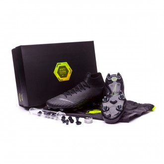 Football Boots  Nike Mercurial Superfly VI Elite Anti-Clog SG-Pro Black