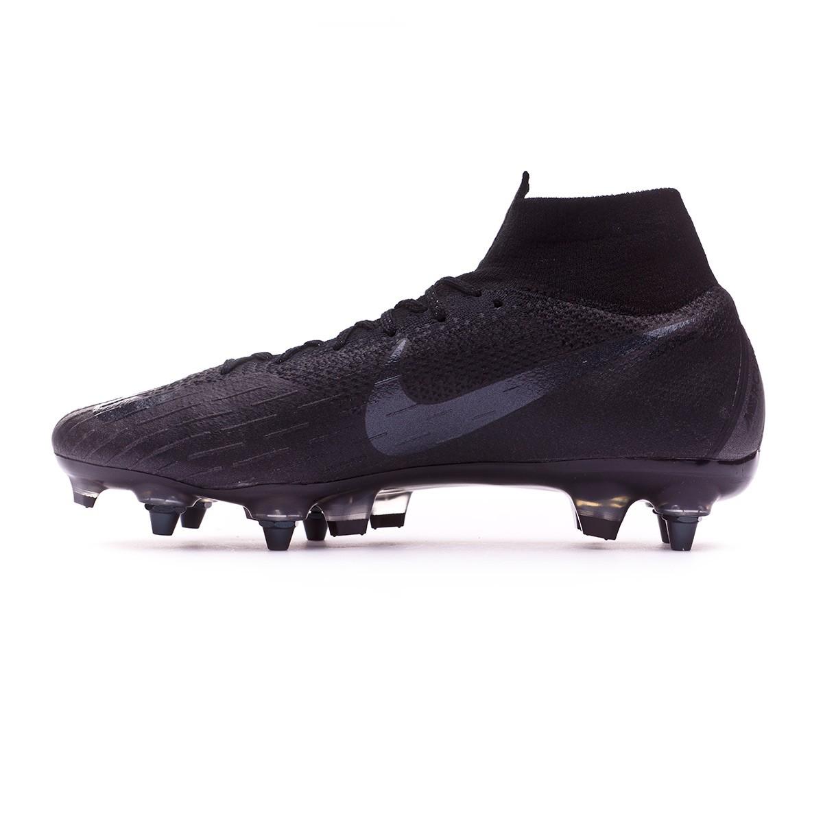 Combatiente halcón Tutor  Football Boots Nike Mercurial Superfly VI Elite Anti-Clog SG-Pro Black -  Football store Fútbol Emotion