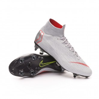 Chuteira  Nike Mercurial Superfly VI Elite Anti-Clog SG-Pro Wolf grey-Light crimson-Pure platinum