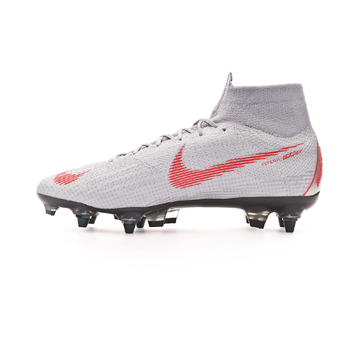 bb09047bf Football Boots Nike Mercurial Superfly VI Elite Anti-Clog SG-Pro Wolf grey-Light  crimson-Pure platinum - Tienda de fútbol Fútbol Emotion