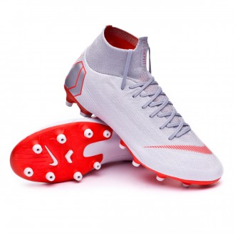 Boot  Nike Mercurial Superfly VI Pro AG-Pro Wolf grey-Light crimson-Pure platinum
