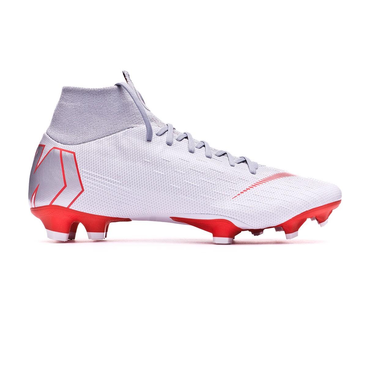 f18b1eea4 Boot Nike Mercurial Superfly VI Pro FG Wolf grey-Light crimson-Pure  platinum - Leaked soccer
