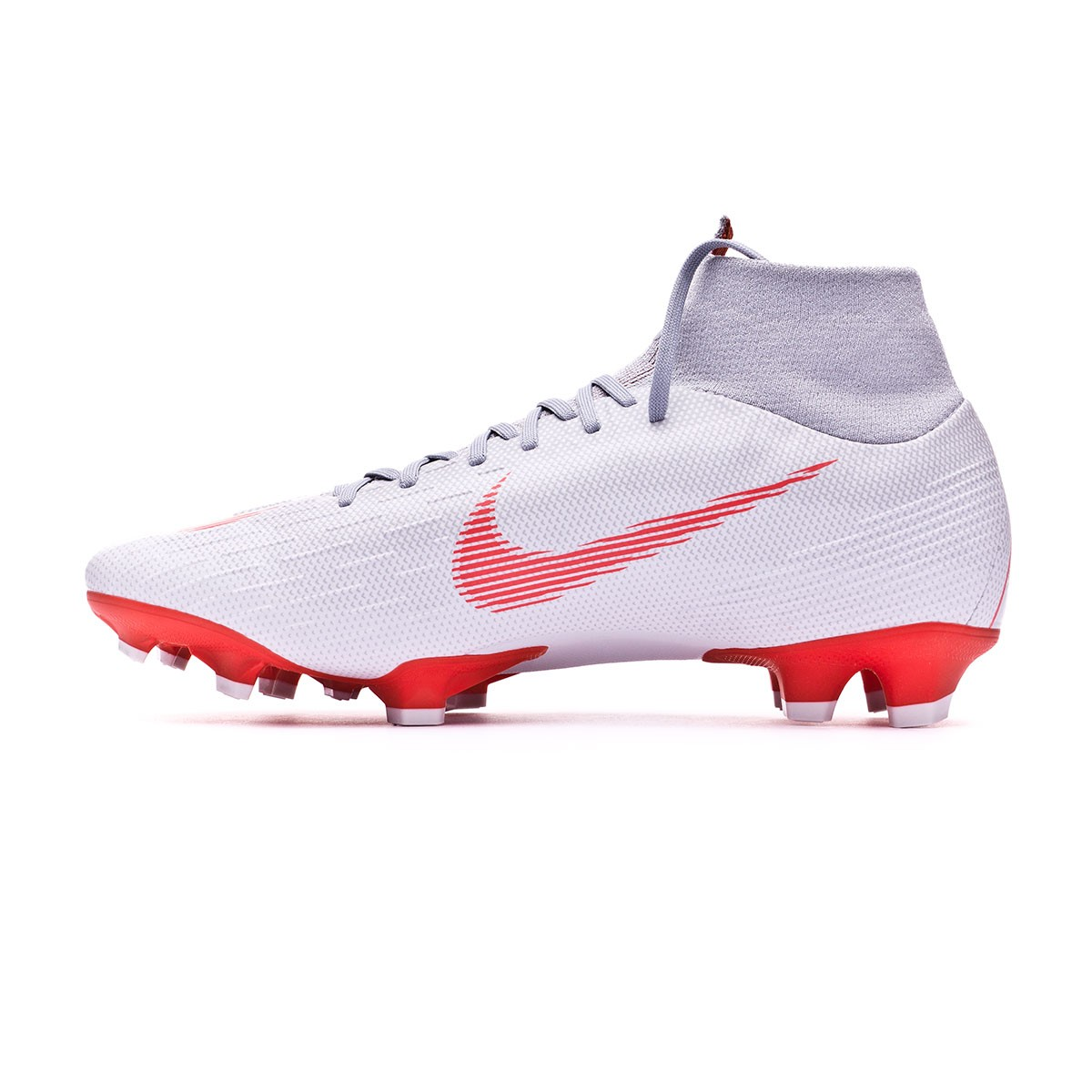 5b71f3054d35 Boot Nike Mercurial Superfly VI Pro FG Wolf grey-Light crimson-Pure  platinum - Leaked soccer