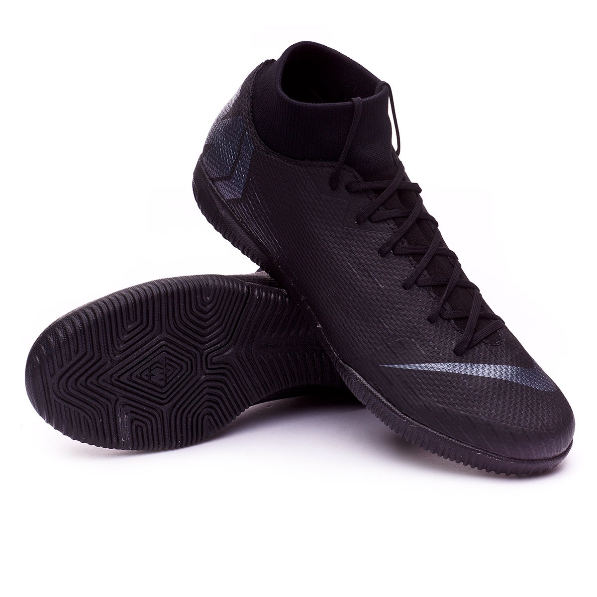 sale retailer 1c94b 6566c ... release date zapatilla mercurial superfly vi academy ic black. category  9f2c3 bc96a