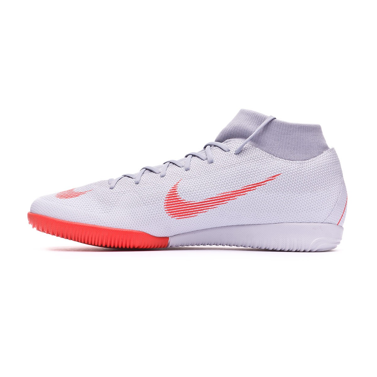 14806bd6a Futsal Boot Nike Mercurial SuperflyX VI Academy IC Wolf grey-Light  crimson-Pure platinum - Tienda de fútbol Fútbol Emotion