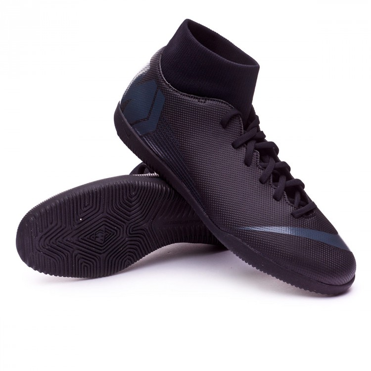 Futsal Boot Nike Mercurial Superfly VI Club IC Black - Football ... 5e090fc1302fe