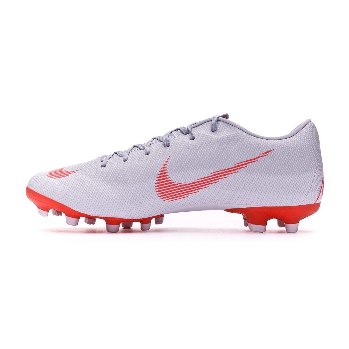 11ea4d48b Chuteira Nike Mercurial Vapor XII Academy MG Wolf grey-Bright crimson-Pure  platinum - Loja de futebol Fútbol Emotion