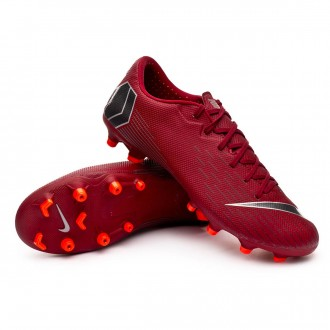 Chuteira  Nike Mercurial Vapor XII Academy MG Team red-Metallic dark grey-Bright crimson