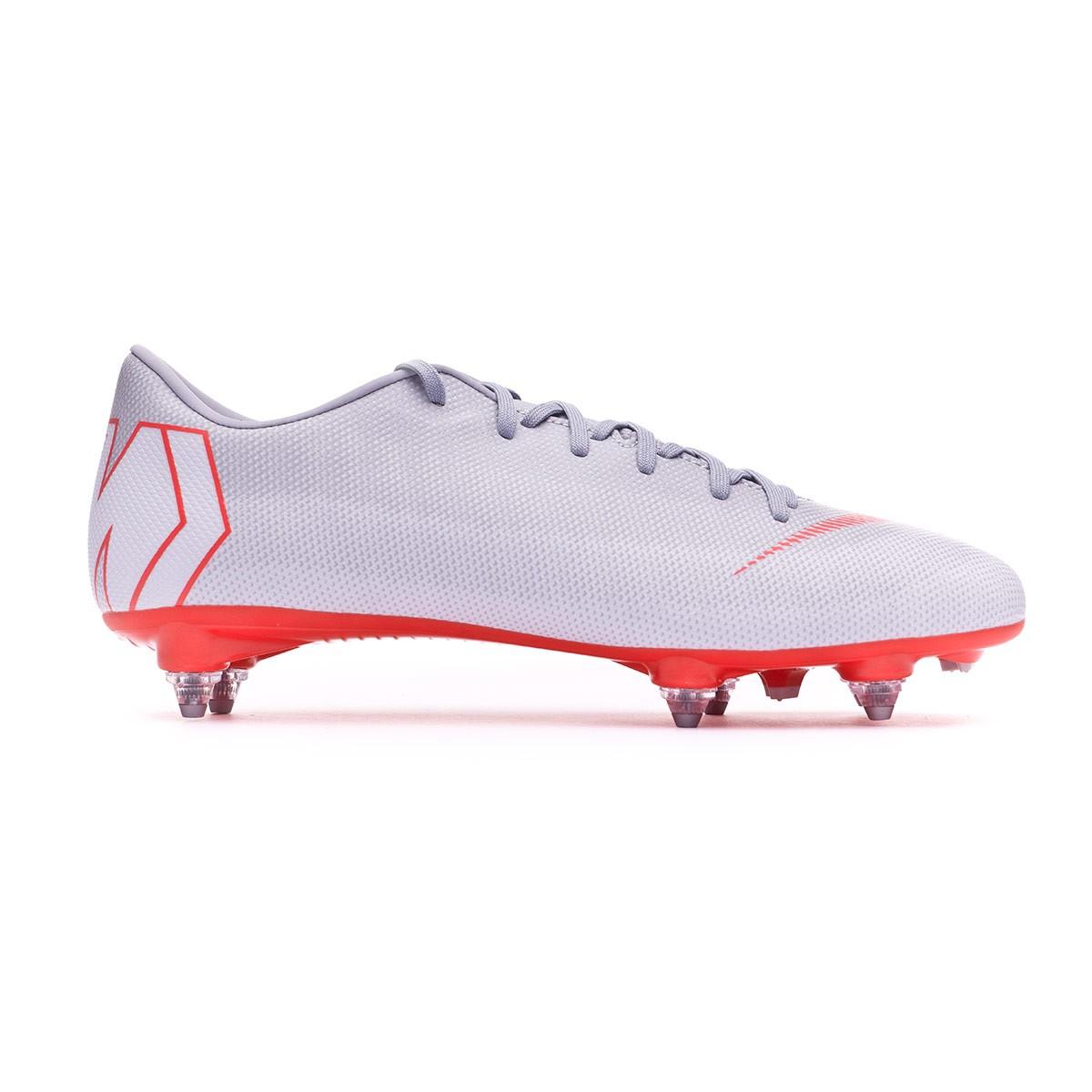 4da2fb05a Football Boots Nike Mercurial Vapor XII Academy SG-Pro Wolf grey-Light  crimson-Pure platinum - Tienda de fútbol Fútbol Emotion