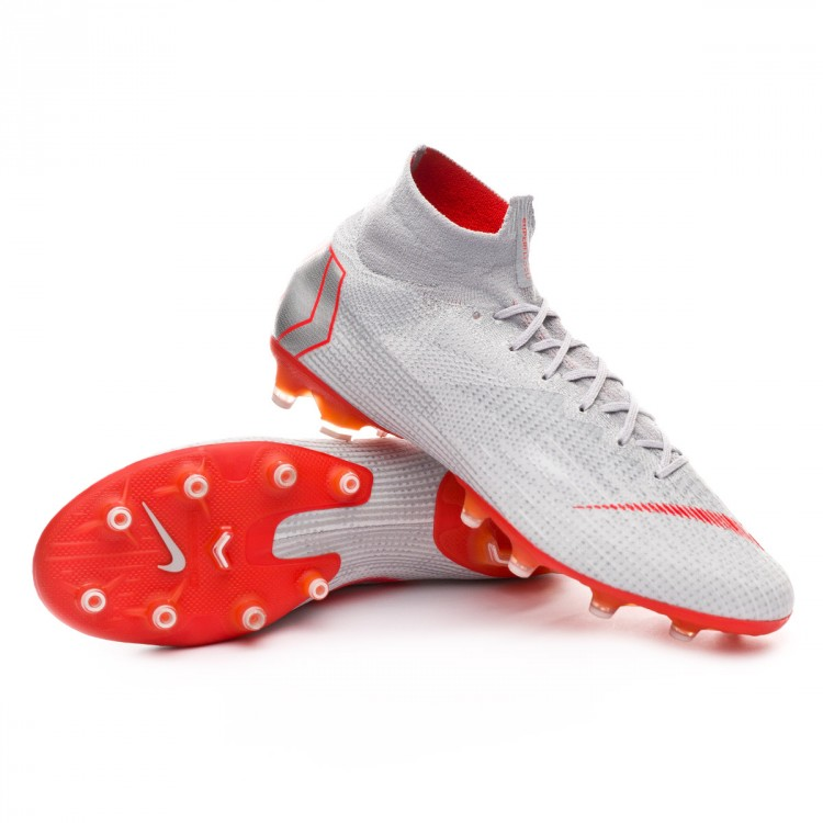 e55bd26105c Football Boots Nike Mercurial Superfly VI Elite AG-Pro Wolf grey ...