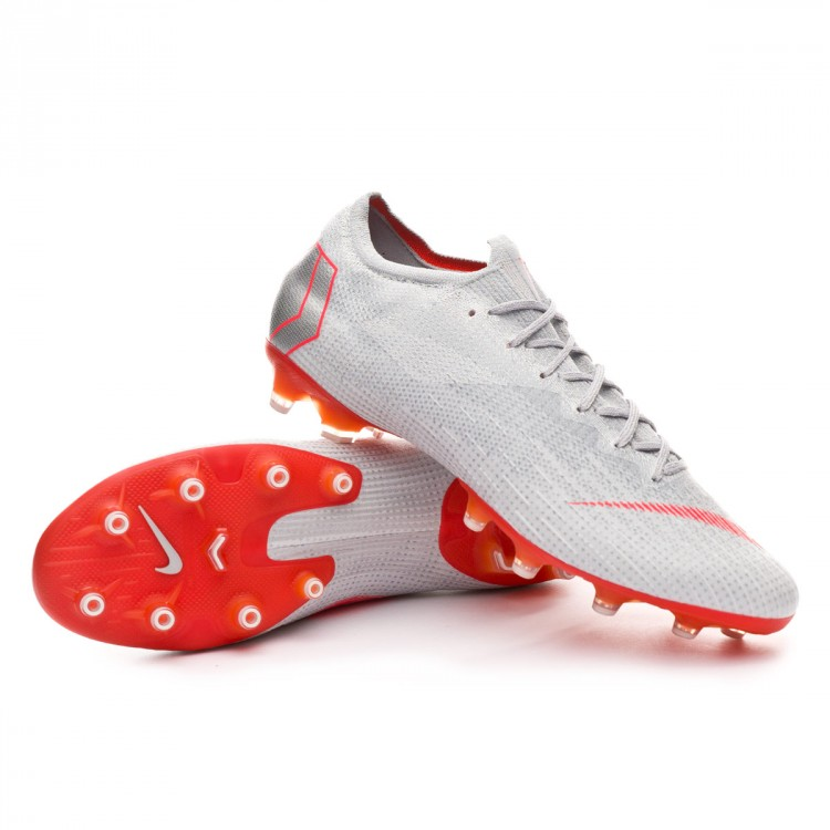e9c00c7ab6076 Football Boots Nike Mercurial Vapor XII Elite AG-Pro Wolf grey-Light ...
