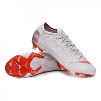 Boot  Nike Mercurial Vapor XII Elite FG Wolf grey-Light crimson-Pure platinum