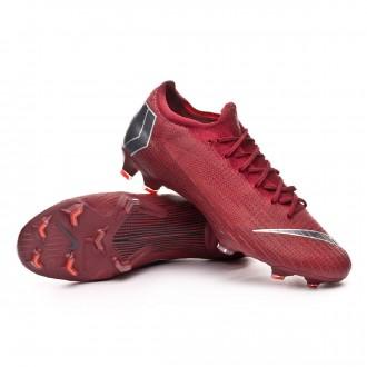 Bota  Nike Mercurial Vapor XII Elite FG Team red-Metallic dark grey-Bright crimson