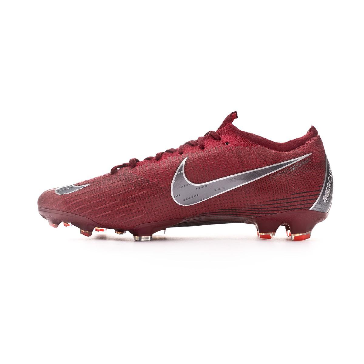 1df8662d292 Zapatos de fútbol Nike Mercurial Vapor XII Elite FG Team red-Metallic dark  grey-Bright crimson - Tienda de fútbol Fútbol Emotion