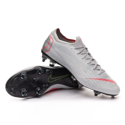 e42df258430 Football Boots Nike Mercurial Vapor XII Elite SG-Pro ACC Wolf grey-Light  crimson-Pure platinum - Tienda de fútbol Fútbol Emotion