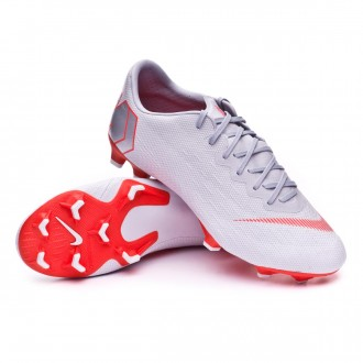 Boot  Nike Mercurial Vapor XII Pro FG Wolf grey-Light crimson-Pure platinum