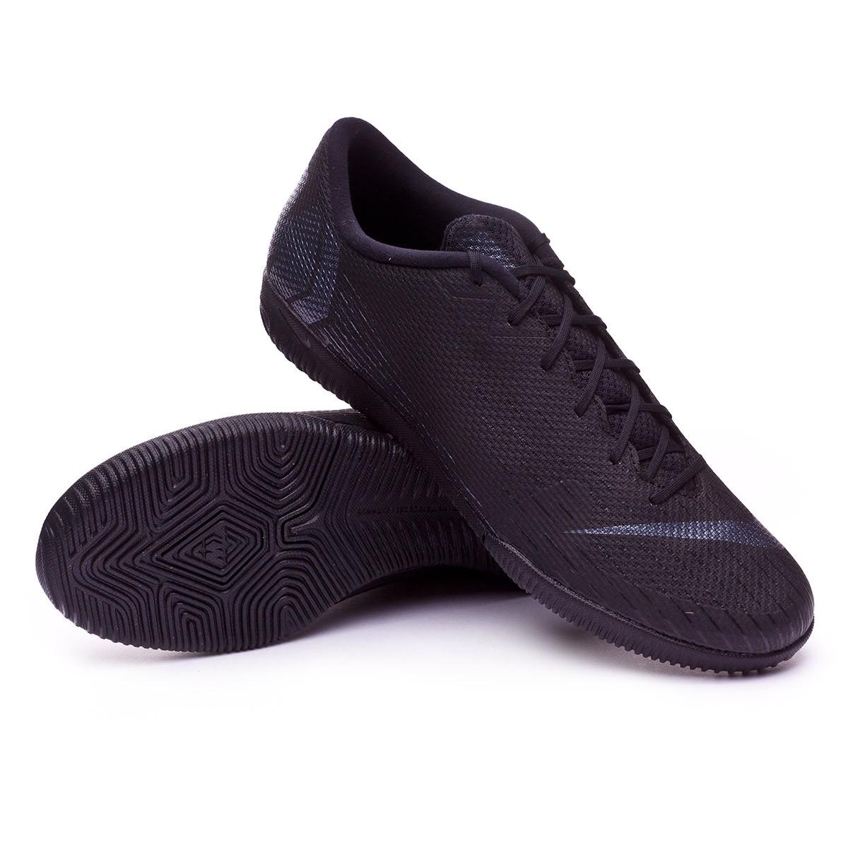 8ed30ece8b8a Futsal Boot Nike Mercurial Vapor XII Academy IC Black - Football ...