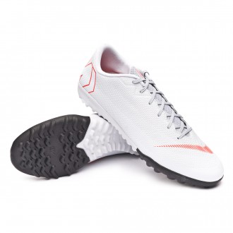 Zapatilla  Nike Mercurial VaporX XII Academy Turf Wolf grey-Light crimson-Pure platinum