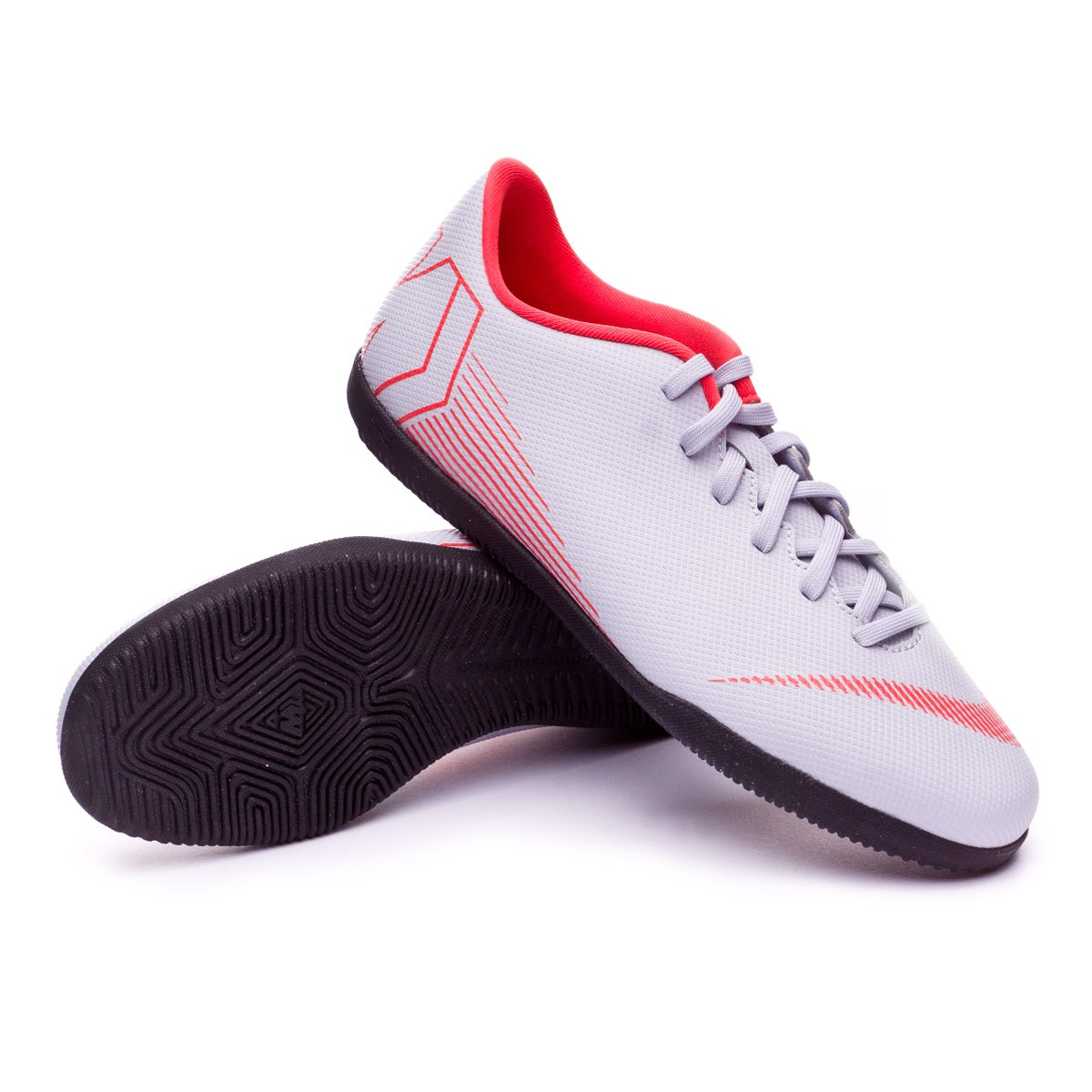 finest selection e2a2a d3989 Zapatilla Mercurial VaporX XII Club IC Wolf grey-Light crimson-Black